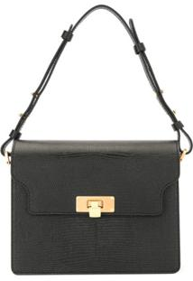 Marge Sherwood Vintage Brick Cross Body Bag - Preto