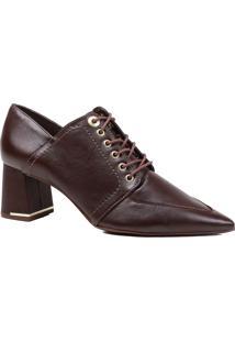 Sapato Feminino Scarpin Loafer Jorge Bischoff Bico Fino