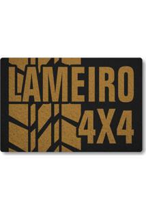 Tapete Capacho Lameiro 4X4 - Preto