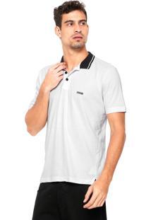 Camisa Polo Mr. Kitsch Botões Branca