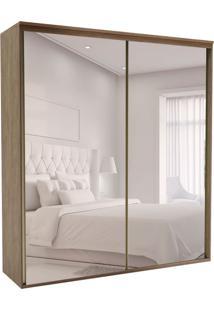 Guarda-Roupa Casal Com Espelho Luminum 2 Pt 3 Gv Ébano
