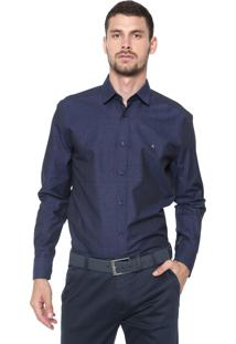 Camisa Aramis Slim Savona Azul