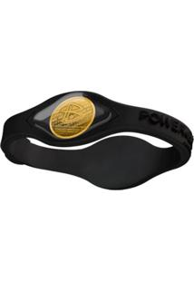 Pulseira De Silicone Power Balance Black Collection - Unissex