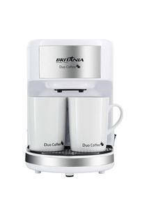 Cafeteira Elétrica Britânia Duo Coffee Branca 220V