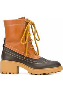 Chloé Ankle Boot Franne - Marrom