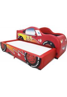 Bicama Flash Cama Carro Do Brasil Vermelho