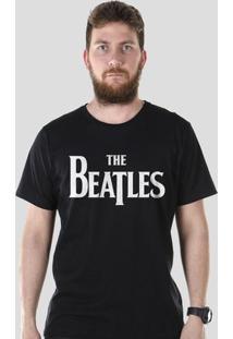 Camiseta Bandup! The Beatles Classic - Masculino-Preto