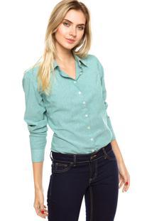 Camisa Malwee Listrada Verde