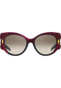 e34e6c97e1b16 Óculos De Sol Fashion Vermelho feminino   Shoelover