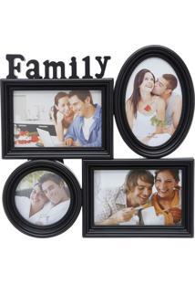 Porta Retrato Family - Prestige - Preto