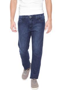 Calça Jeans Hang Loose Reta Bay Azul