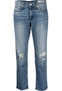 Rag & Bone Calça Jeans Slim Dre Com Cintura Baixa - Azul