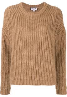 Paul & Joe Cable Knit Jumper - Marrom
