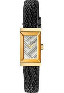 547a08a74a1 Vivara. Relógio De Grife Feminino Preto Couro Gucci ...