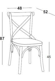 Cadeira X Amarela Maxima