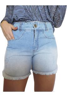 Bermuda Jeans Axia Shop Cintura Alta