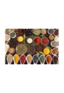 Painel Adesivo De Parede - Temperos - Cozinha - Restaurante - 1792Pnm