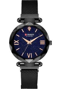 Relógio Curren Analógico C9036L - Preto - Tricae