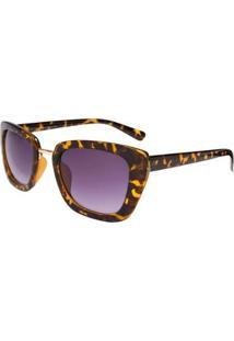 Óculos Ray Flector Buckingham Rf276Co - Feminino-Preto+Amarelo