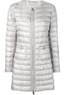 Herno Zipped Padded Jacket - Cinza