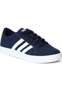 Tênis Casual Masculino Adidas Vs Set Azul/Branco