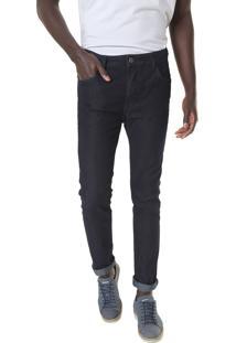 Calça Jeans Sommer Slim Alan Azul-Marinho