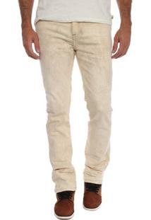 Calça Jeans Dusty White Slim