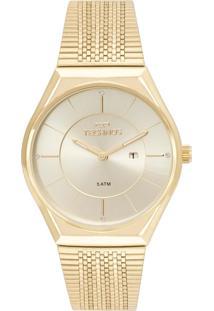 Relógio Fashion Trend Technos Gl15Ar/4X Dourado