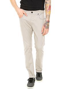 Calça Sarja Oakley Slim 5 Pockets Slim Fit Cinza