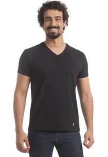 Camiseta Zaiden Store Zaiden Basic T1 - Masculino-Preto
