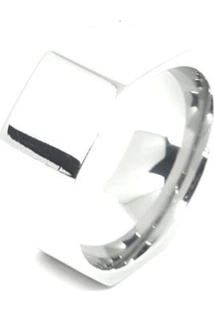 Anel Aço Inox Hexagonal