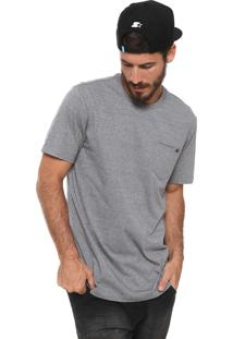 Camiseta Mcd Bolso Cinza