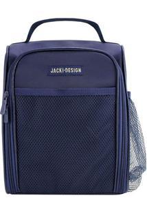 Bolsa Térmica- Azul Escuro- 24X19X12Cm- Jacki Dejacki Design