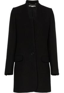 Stella Mccartney Blazer Com Abotoamento Único - Preto