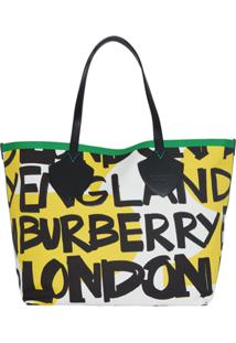 Burberry Bolsa Tote 'The Giant' - Amarelo