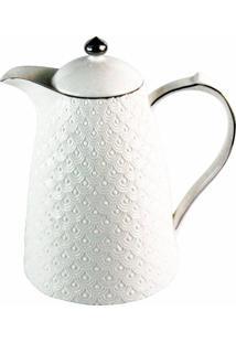 Garrafa Térmica De Porcelana Madri Branca