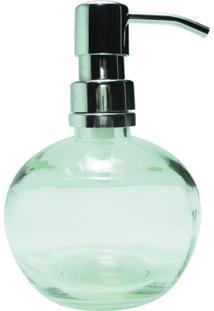 Porta Sabonete Decorando Com Classe Líquido Bola Transparente Branco