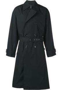 Bottega Veneta Waterproof Trench Coat - Preto