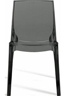 Cadeira Femme Fatale Policarbonato Fume - 18687 - Sun House