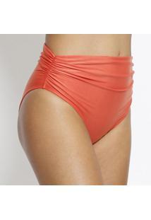Calcinha Hot Pant Com Drapeado- Corallenny