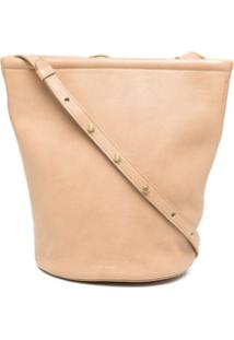 Mansur Gavriel Zip Bucket Bag - Neutro