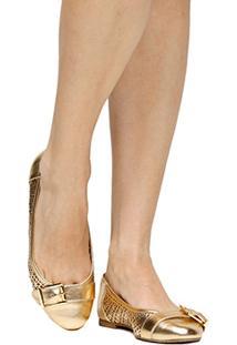 Sapatilha Shoestock Redondo Laser Lgt - Feminino