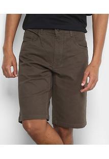 Bermuda Oakley 5 Pockets Short Masculina - Masculino-Marrom