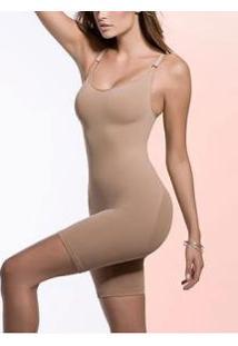 Body Modelador Trifil (C02255/2255) Sem Costura E Com Perna