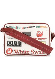 Off-White Bolsa Com Estampa De Logo - Branco