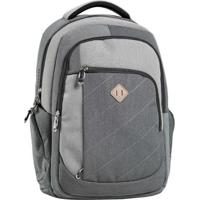 c9319e163 Mochila Vlcs Personalizada Com Porta Laptop - Unissex-Cinza