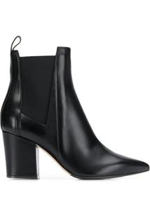 Sergio Rossi Heeled Ankle Boots - Preto