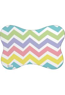 Tapete Pet Mdecore Chevron Colorido 46X33Cm