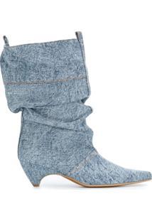 Stella Mccartney Bota Jeans - Azul