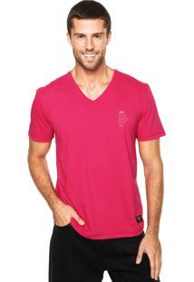 Camiseta Triton Estampa Rosa